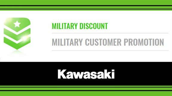 Kawasaki Military Discount